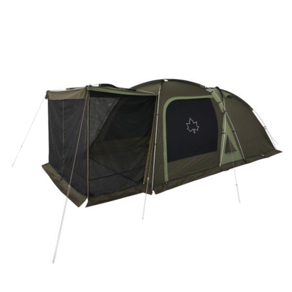 テント 大型 テント ロゴス テント セット 71809559 LOGOS テントチャレンジセットneos 3ルームドゥーブル XL-BJ 【HN】【QCA25】