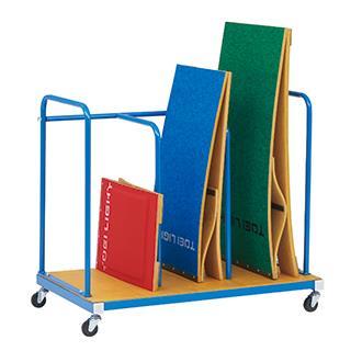 【法人限定】 踏切板 収納 キャリー 体育用品 踏切板運搬車120-5 T-1765 特殊送料【ランク:11】 【TOL】 【QCA04】