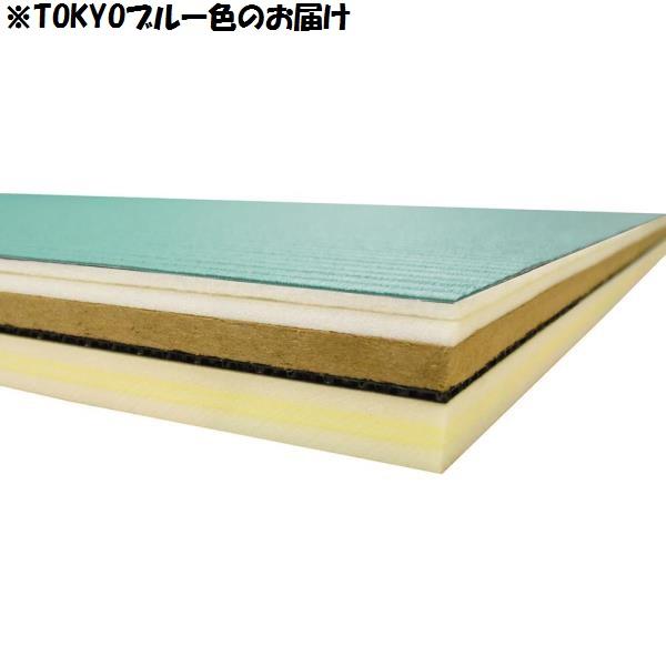 畳 柔道 柔道畳 柔道マット 柔道畳ソフト(1×2) TOKYOブルー EKR036-791 特殊送料【ランク:G】 【ENW】 【QCA25】