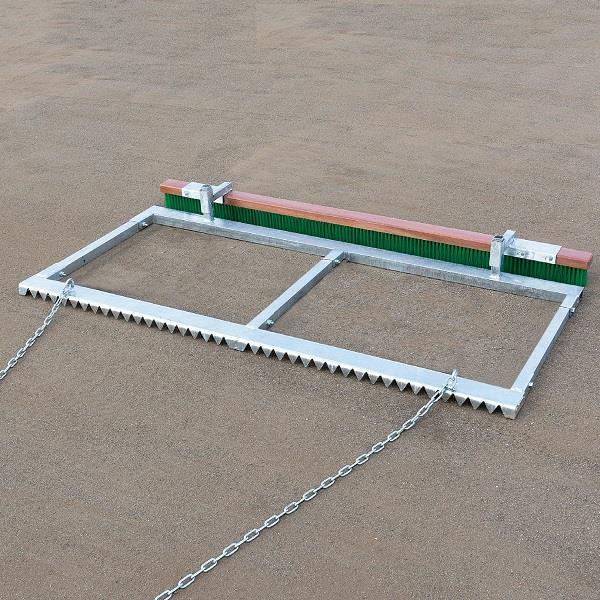 グラウンド整備 グランドならし コート整備 S-0969 グラウンドならし 二枚刃型 送料ランク【D】【SWT】【QCA25】