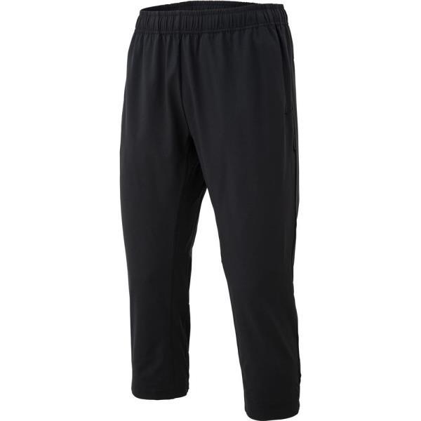 倉 ルコック 七分丈パンツ メンズ ハーフパンツ ジャージ 7分丈パンツ サイクルウェア QCB27 Pants 4 ブラック ストア LCQ 3