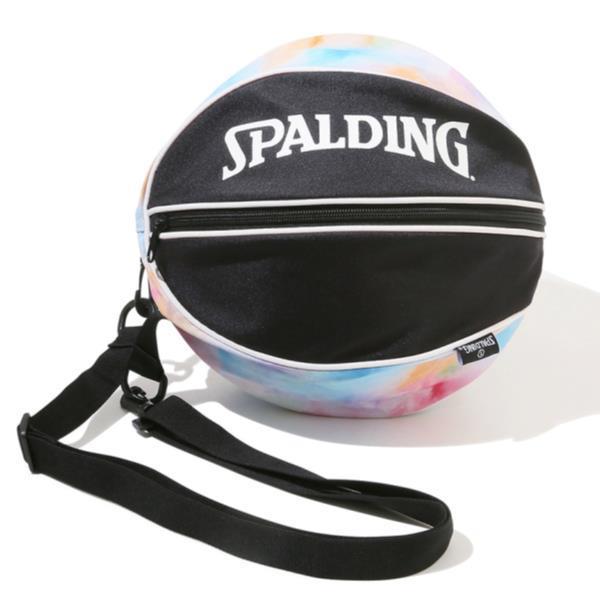 スポルディング ボールバッグ ボールケース バスケ 最新号掲載アイテム バッグ 49-001TD SP 激安格安割引情報満載 QCB27 タイダイレインボー