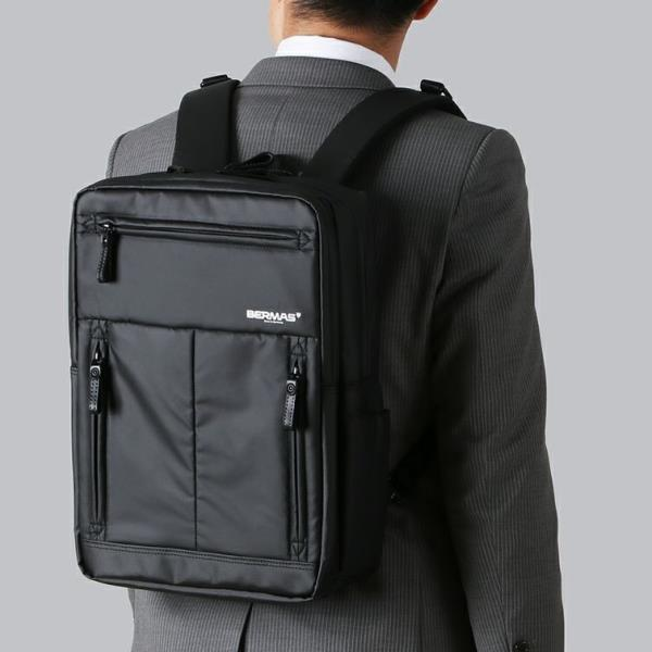 バーマス 通勤バッグ リュック ビジネスバッグ 予約販売品 通勤鞄 訳あり品送料無料 60352 BMS ブラック BM ALSFELD QCB02
