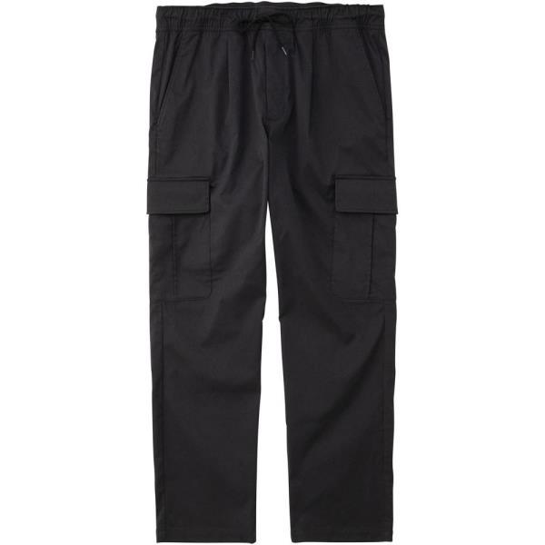 パンツ メンズ ジャージ メンズ 長ズボン メンズ エアスタイリッシュパンツイーエス(ワイド) ブラック 【LCQ】【QCB02】