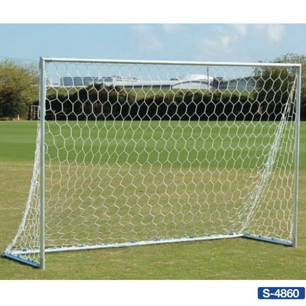 三和体育 交換無料 ゴール ミニサッカー サッカーゴール 法人限定 サッカー S-4860 45DX SWT 送料 アルミミニゴール 3x2 贈り物 お見積