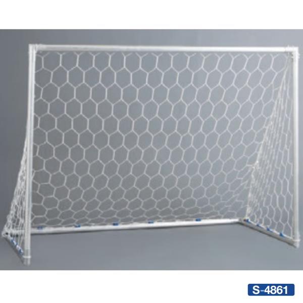 三和体育 ゴール ミニサッカー サッカーゴール 法人限定 大規模セール 送料無料 サッカー S-4861 SWT 45DX アルミミニゴール C 送料ランク 2x1.5