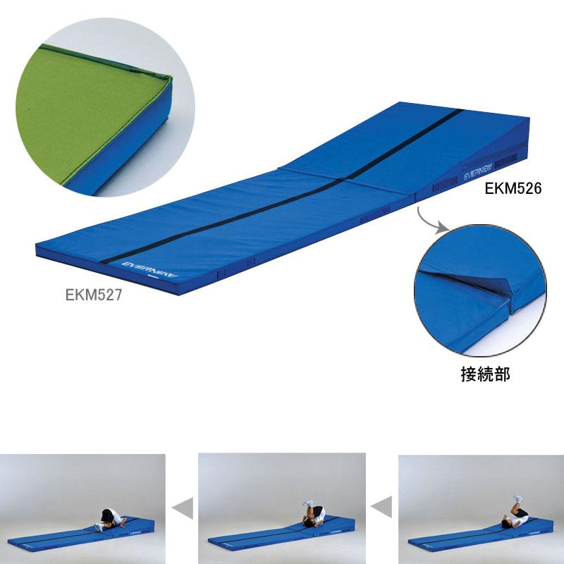 軽量エコアングルマット (JS119029/EKM526)【分類:体操マット 体育マット マット トレーニングマット】