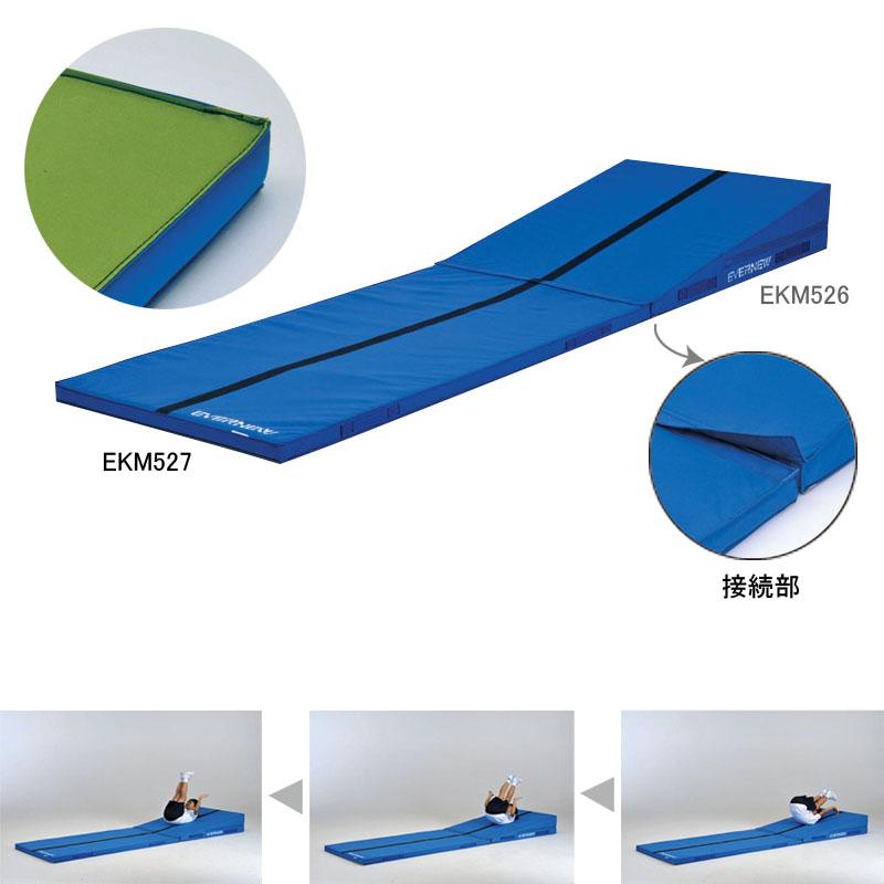 軽量接続エコアングルマット (JS119030/EKM527)【分類:体操マット 体育マット マット トレーニングマット】