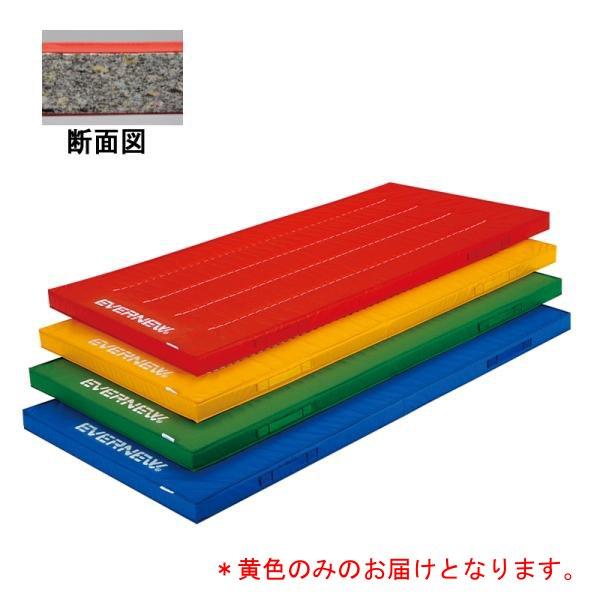屋内外兼用体操マット120×300×5/黄 EKM416-黄400 (JS140200)【送料区分:E】