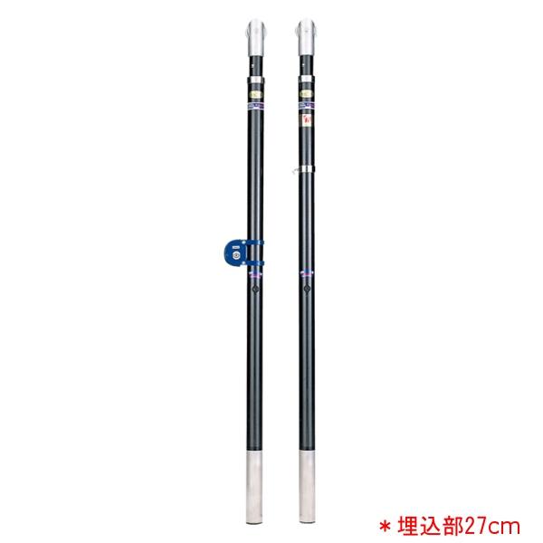 バレー支柱カーボン・F(埋込部27cm) EKE5252 (JS140205)【送料区分:E】【QBI35】