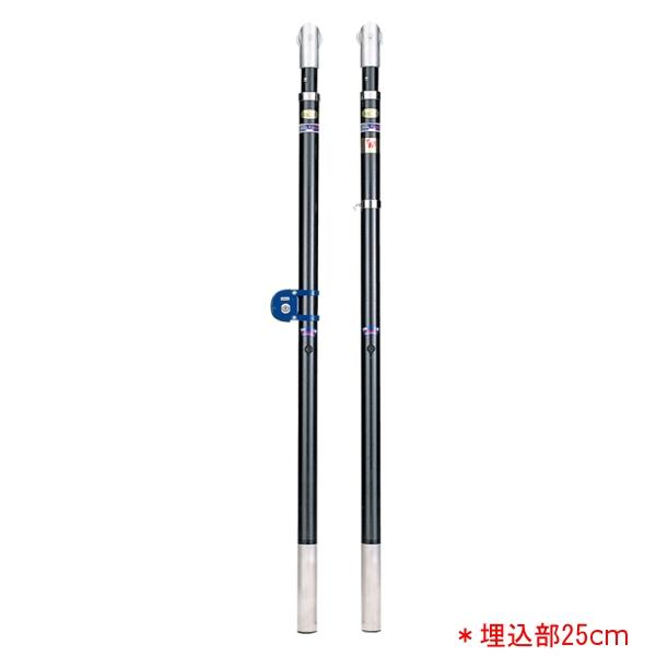バレー支柱カーボン・F(埋込部25cm) EKE5253 (JS140206)【送料区分:E】【QBI35】