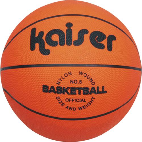 kaiser キャンパス バスケットボール 5号 KA189487 KW-492 ゴムボール 練習球 QCB27 5号球 バスケ ボール 即納 人気 廉価 バスケット 安価