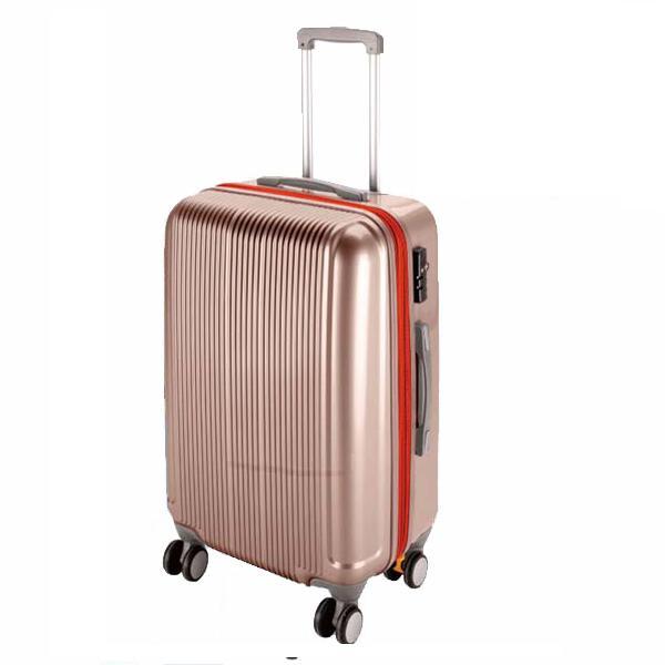 CS スーツケース(TSAロック付きダブルファスナータイプ) S/シャンパンベージュ (AP189932/UV-24)【 UV-0024 】【UV-0024】【QCA25】