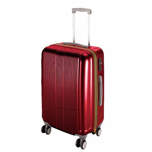 CS スーツケース(TSAロック付きダブルファスナータイプ) S/ワインレッド (AP189935/UV-27)【 UV-0027 】【UV-0027】【QBI35】