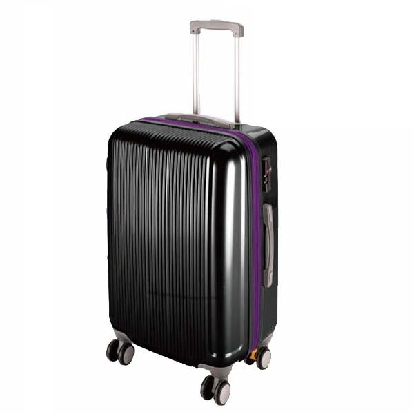 CS スーツケース(TSAロック付きダブルファスナータイプ) S/ブラック (AP189941/UV-33)【 UV-0033 】【UV-0033】