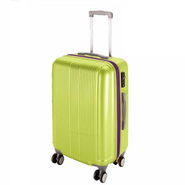 CS スーツケース(TSAロック付きダブルファスナータイプ) S/アップルグリーン (AP189944/UV-36)【 UV-0036 】【UV-0036】