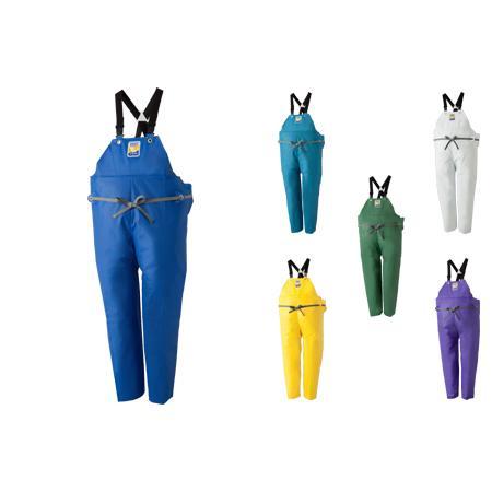マリンエクセル 胸当付ズボン膝当て付(サスペンダー式) ブルー/4L (HN194269/12063159)【QBI25】