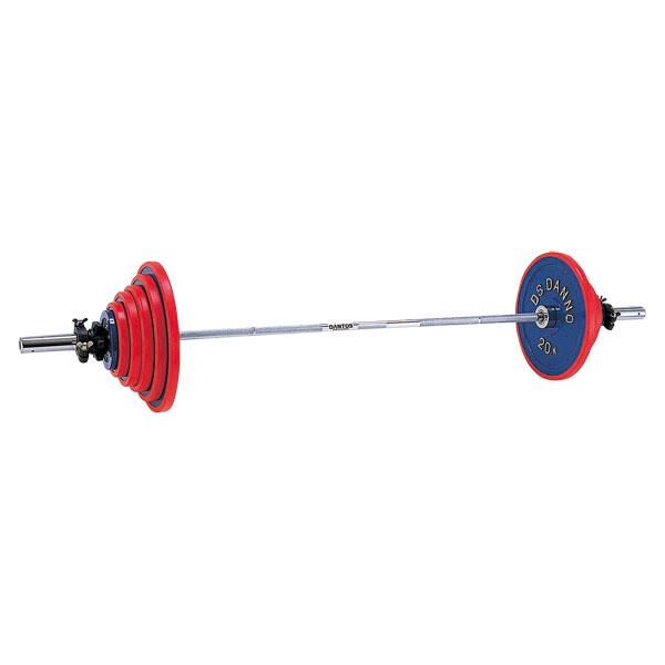 ダンベル ウエイト バーベル A220バーベル 80kgセット D-5761 特殊送料【ランク:M-1】 【DAN】 【QCA25】