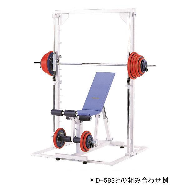 トレーニングベンチスミスマシンD-586 特殊送料:ランク【S-1】【DAN】
