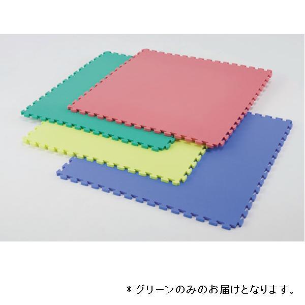 リバーシブルジョイントマット90×90(グリーン) D-3218G 特殊送料【ランク:I】 【DAN】 【QCA04】