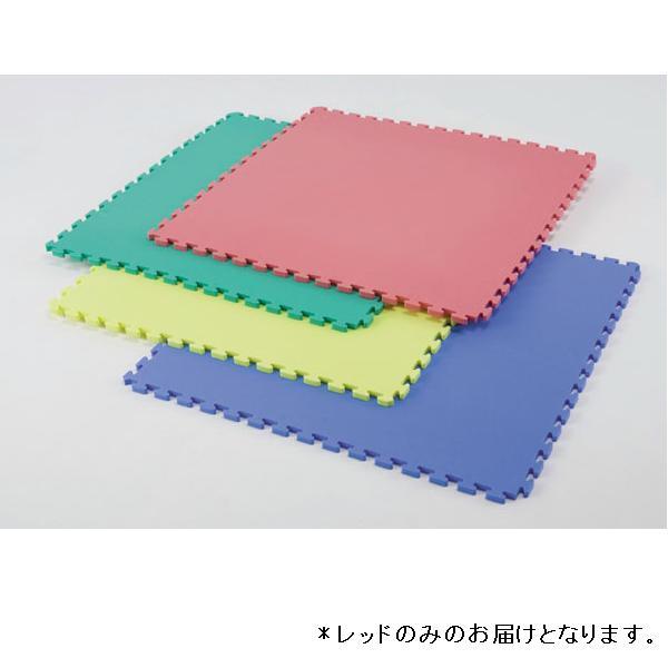 リバーシブルジョイントマット90×90(レッド) D-3218R (JS199015)【送料区分:H-1】
