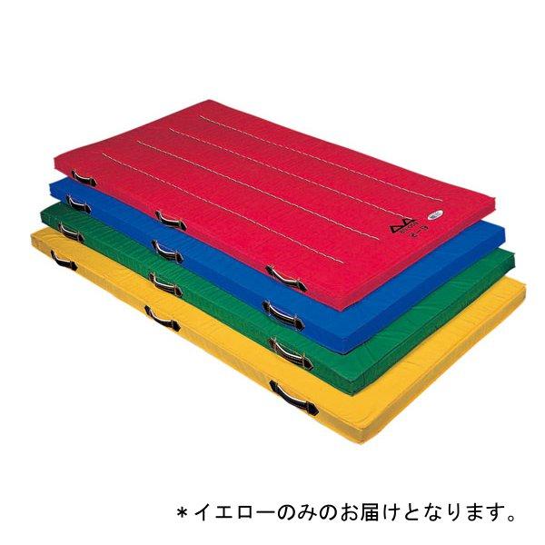 カラー体操マットDX(90X180X5cm/イエロー) D-4635Y (JS199151)【送料区分:別途】