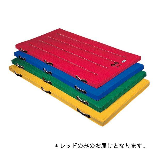 カラー体操マットDX(120X300X5cm) D-4638R (レッド) (レッド) D-4638R (JS199162)【送料区分:別途】, 品質満点:4ee6b363 --- rigg.is