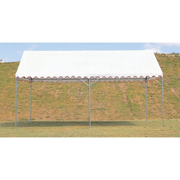 テント イベントテント 集会用レギュラーテント A2型 (270×360cm)1.5間×2間D-4702 特殊送料:ランク【別途】【DAN】