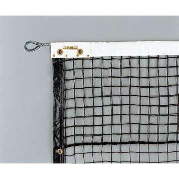 硬式テニスネット 硬式ステンレスブレード192W (ブラック) (JS199419/D-6144BK)【QBI35】