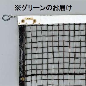 ネット 試合用 硬式テニスネット 硬式ステンレスブレード192W (グリーン) D-6144G 特殊送料【ランク:E-1】 【DAN】 【QCA04】