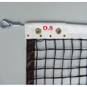 ネット 試合用 硬式テニスネット 硬式ダイニーマ (ブラック) D-6160BK 特殊送料【ランク:E-1】 【DAN】 【QCA25】