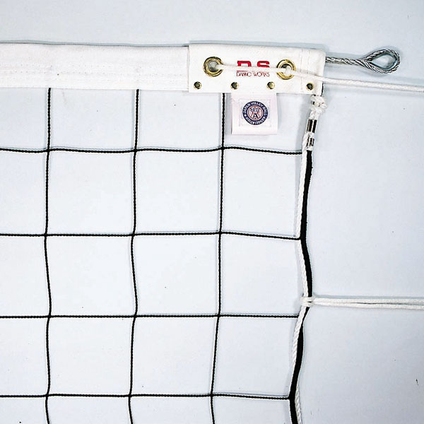 ネット 試合用 6人制バレーボールネット スチール240 D-6310 特殊送料【ランク:D-2】 【DAN】 【QCA41】