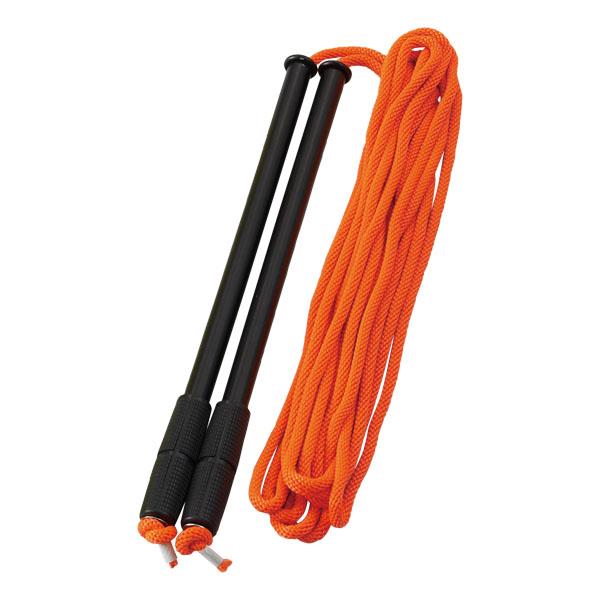 団体用カラーなわとび 15m (オレンジ) (JS199506/D-6942OR)【QBJ38】