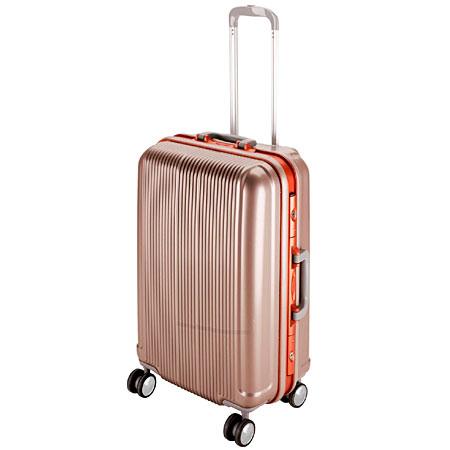 グレル トラベルスーツケース(TSAロック付きHFタイプ)(M/シャンパンベージュ) (AP212797/UV-0002)【 UV-2 】