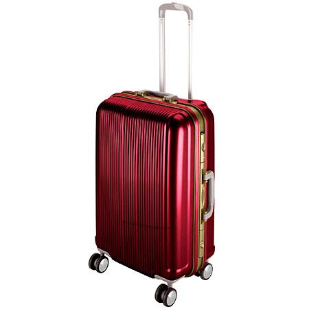 グレル トラベルスーツケース(TSAロック付きHFタイプ)(M/ワインレッド) (AP212800/UV-0005)【 UV-5 】