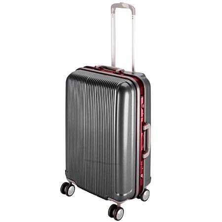 グレル トラベルスーツケース(TSAロック付きHFタイプ)(M/スチールグレー) (AP212803/UV-0008)【 UV-8 】【QCA04】