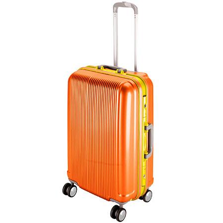グレル トラベルスーツケース(TSAロック付きHFタイプ)(M/サンセットオレンジ) (AP212815/UV-0020)【 UV-20 】【QBI35】