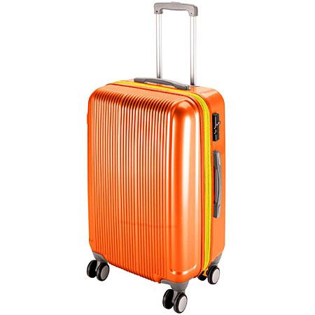 グレル トラベルスーツケース(TSAロック付きWFタイプ)(L/サンセットオレンジ) (AP212817/UV-0040)【 UV-40 】