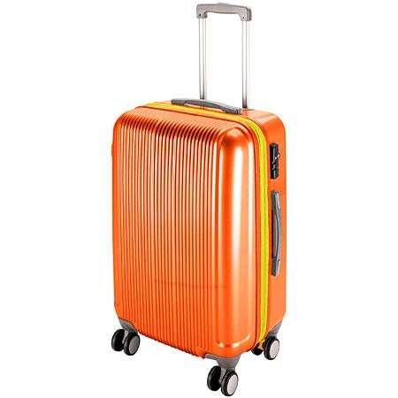 グレル トラベルスーツケース(TSAロック付きWFタイプ)(M/サンセットオレンジ) (AP212818/UV-0041)【 UV-41 】