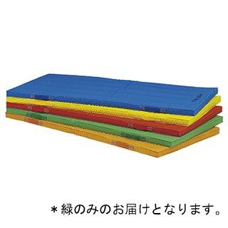 エコカラーマット120×240×5cm 緑 T-1112G (JS221333)【送料区分:9】