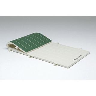 6cmノンスリップ合成スポンジマット(9号帆布)150×600×6cm T-1197 (JS221417)【送料区分:14】【QBI35】