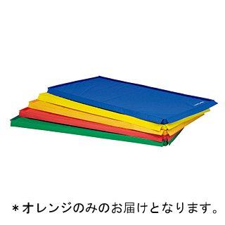 スポーツ軽量四方連結マット オレンジ T-1213V (JS221443)【送料区分:7】