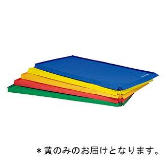 スポーツ軽量四方連結マット 黄 T-1213Y (JS221444)【送料区分:7】