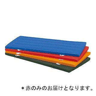 抗菌再生カラーマット(赤)90×180×5cm T-1237R (JS221483)【送料区分:7】