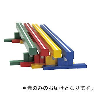 平均台360 赤 T-2486R (JS221696)【送料区分:9】