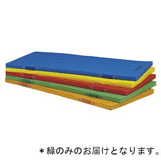 抗菌エコカラー合成スポンジマット(緑)90×180×5cm T-2538G (JS221702)【送料区分:7】
