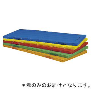 抗菌エコカラー合成スポンジマット(赤)90×180×5cm T-2538R (JS221703)【送料区分:7】【QBI35】