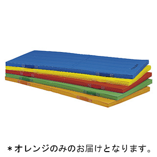 抗菌エコカラー合成スポンジマット(オレンジ)120×240×5cmT-2539V 特殊送料:ランク【9】【TOL】