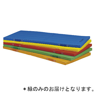 抗菌エコカラー合成スポンジマット(緑)120×300×5cmT-2541G 特殊送料:ランク【9】【TOL】