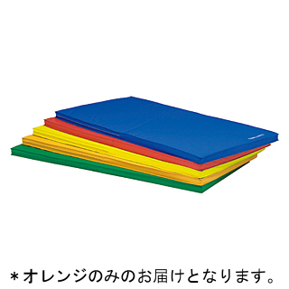 【法人限定】 スポーツ軽量マット90 オレンジ (90×180×5cm) T-2806V 特殊送料【ランク:39】 【TOL】 【QCA04】